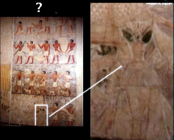 Egyptian Aliens Drawings Aliens Who Once Visited Them